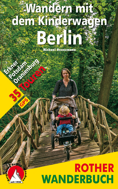 Cover des Kinderwagen-Wanderführers Berlin