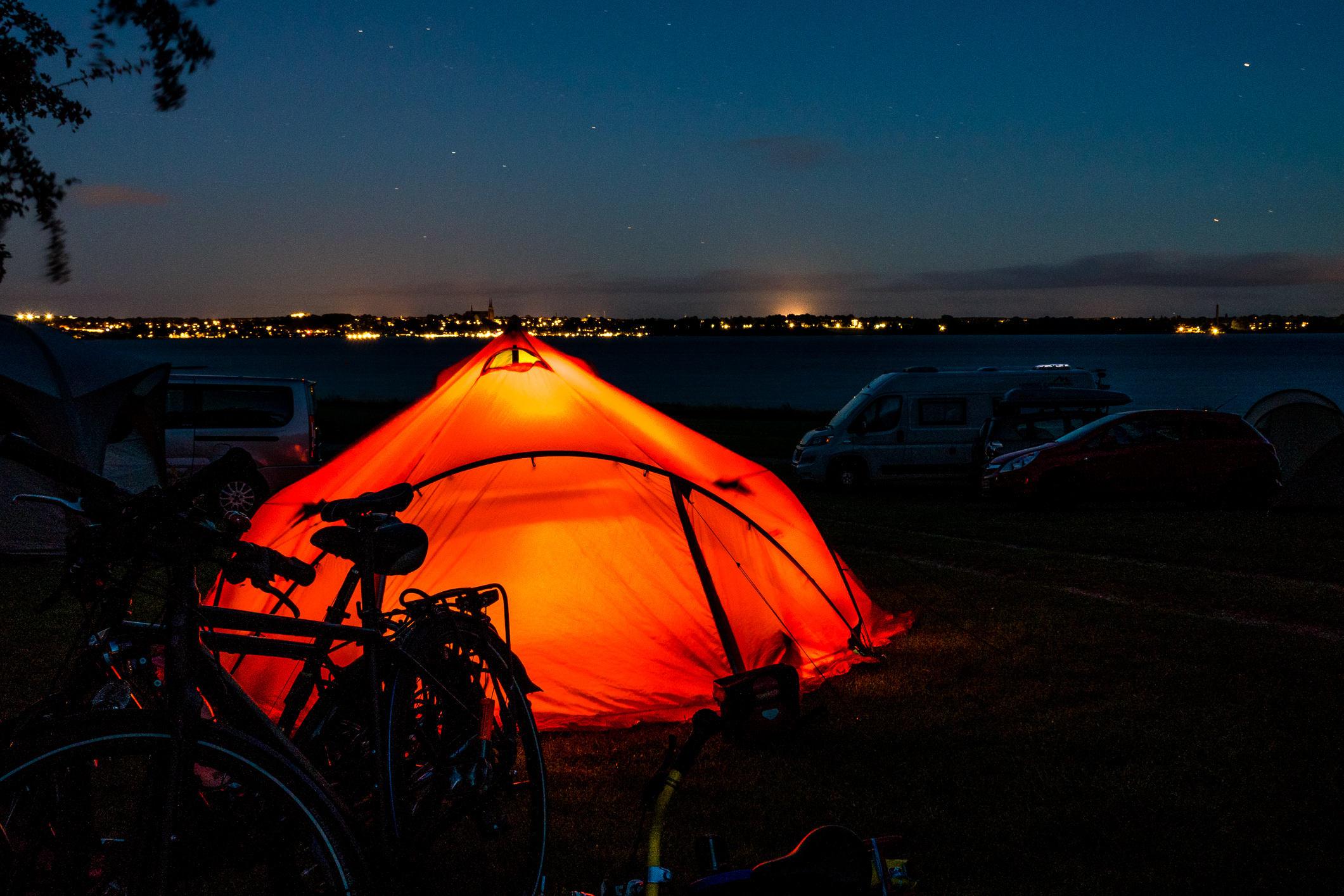 Abendstimmung am Roskildefjord