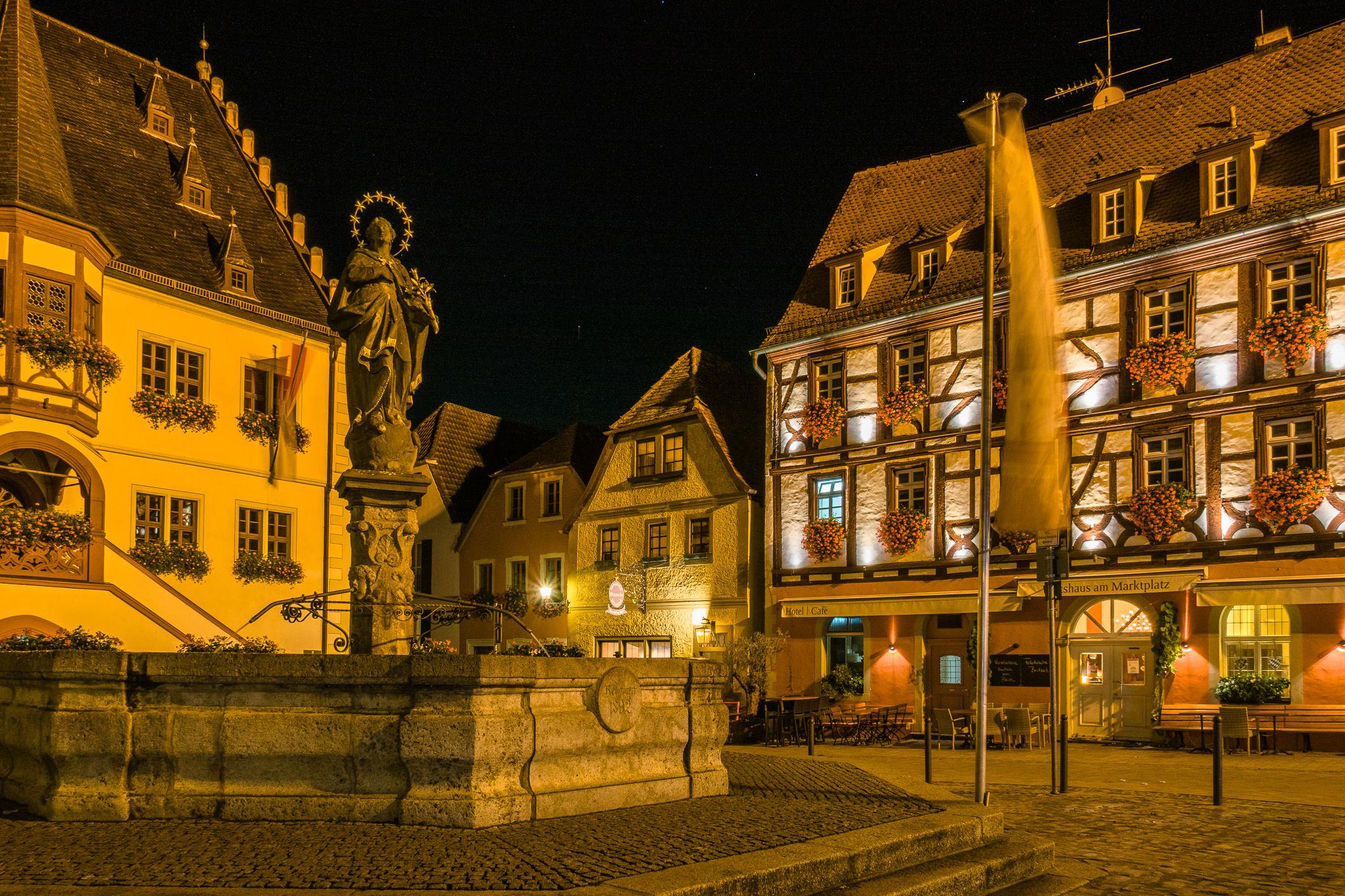 Marktplatz in Volkach
