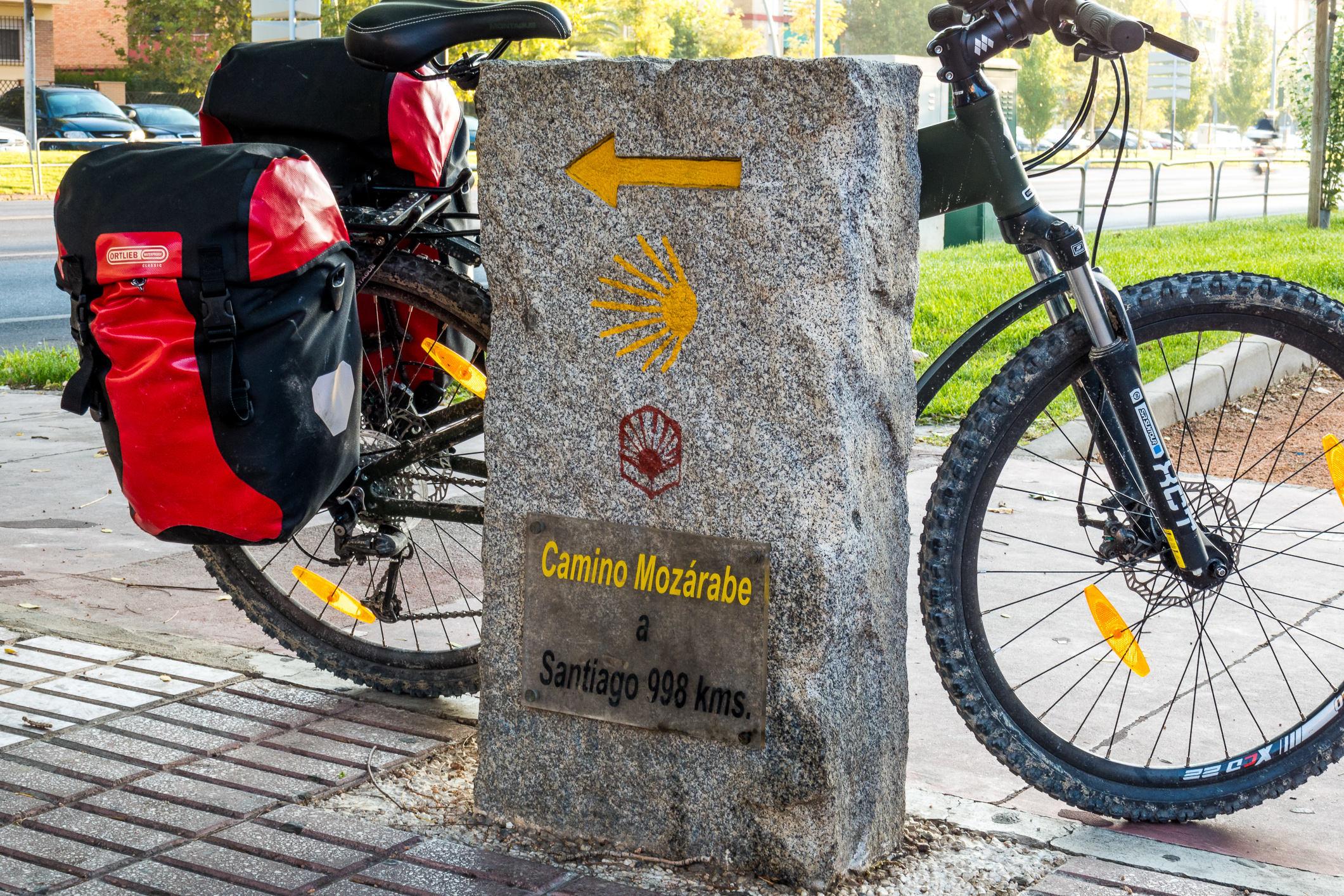 Wegweiser in Córdoba