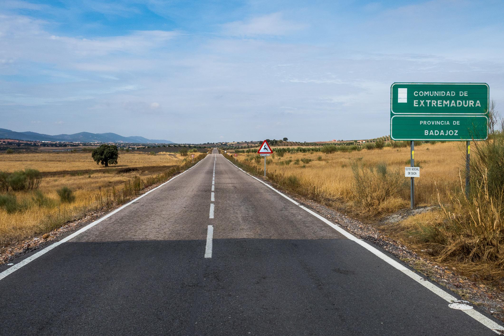 In Monterrubio de la Serena ist die Extremadura erreicht.