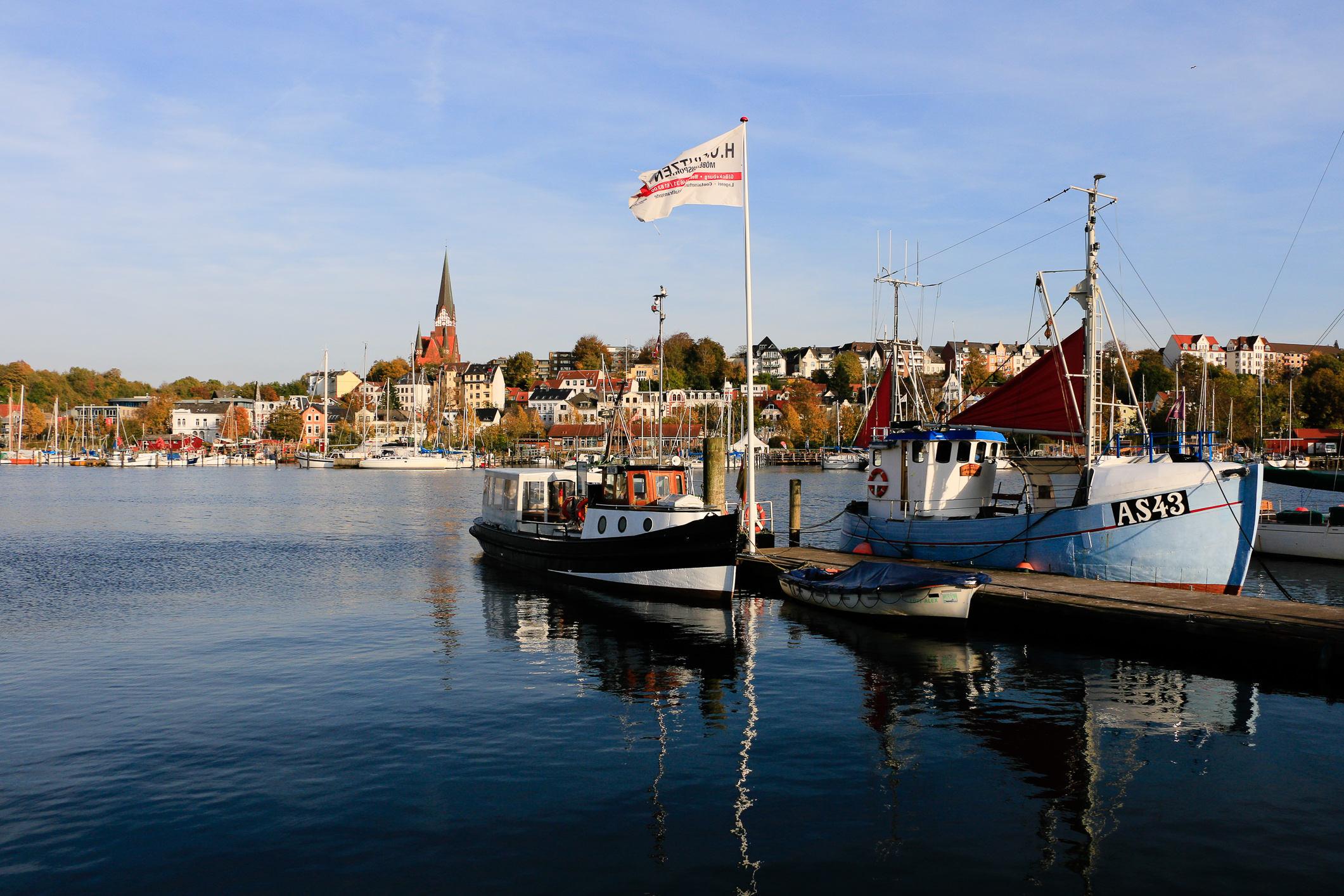 Flensburg ist Deutschlands nördlichste Hafenstadt