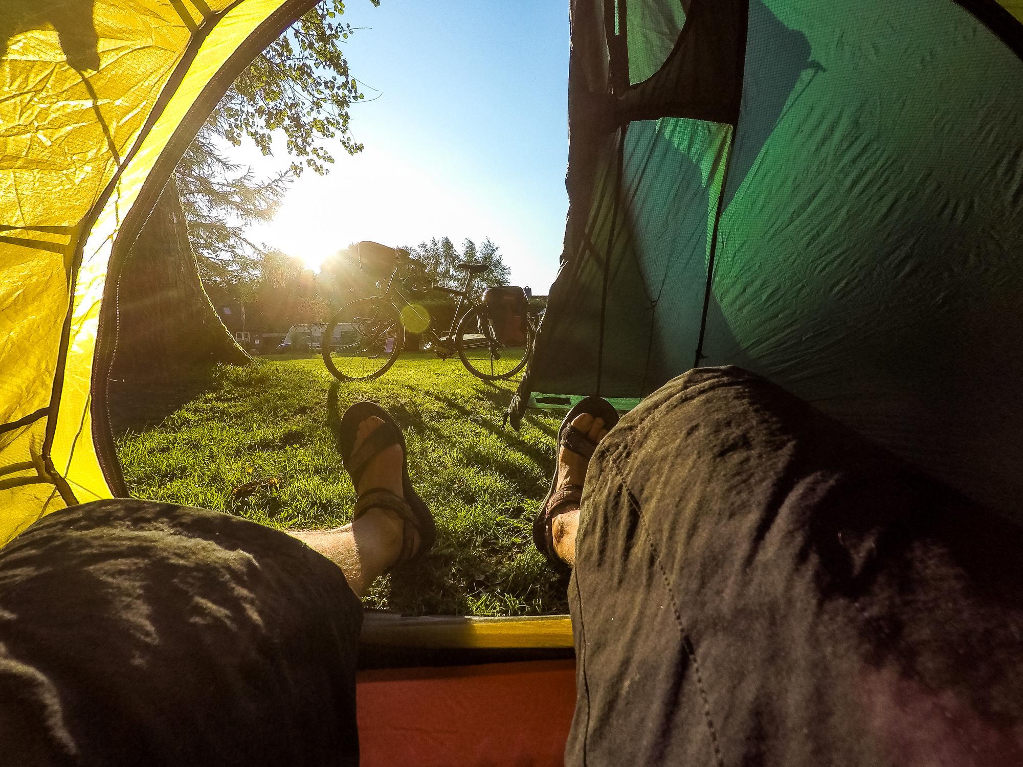 Campingplatz in Bad Bramstedt