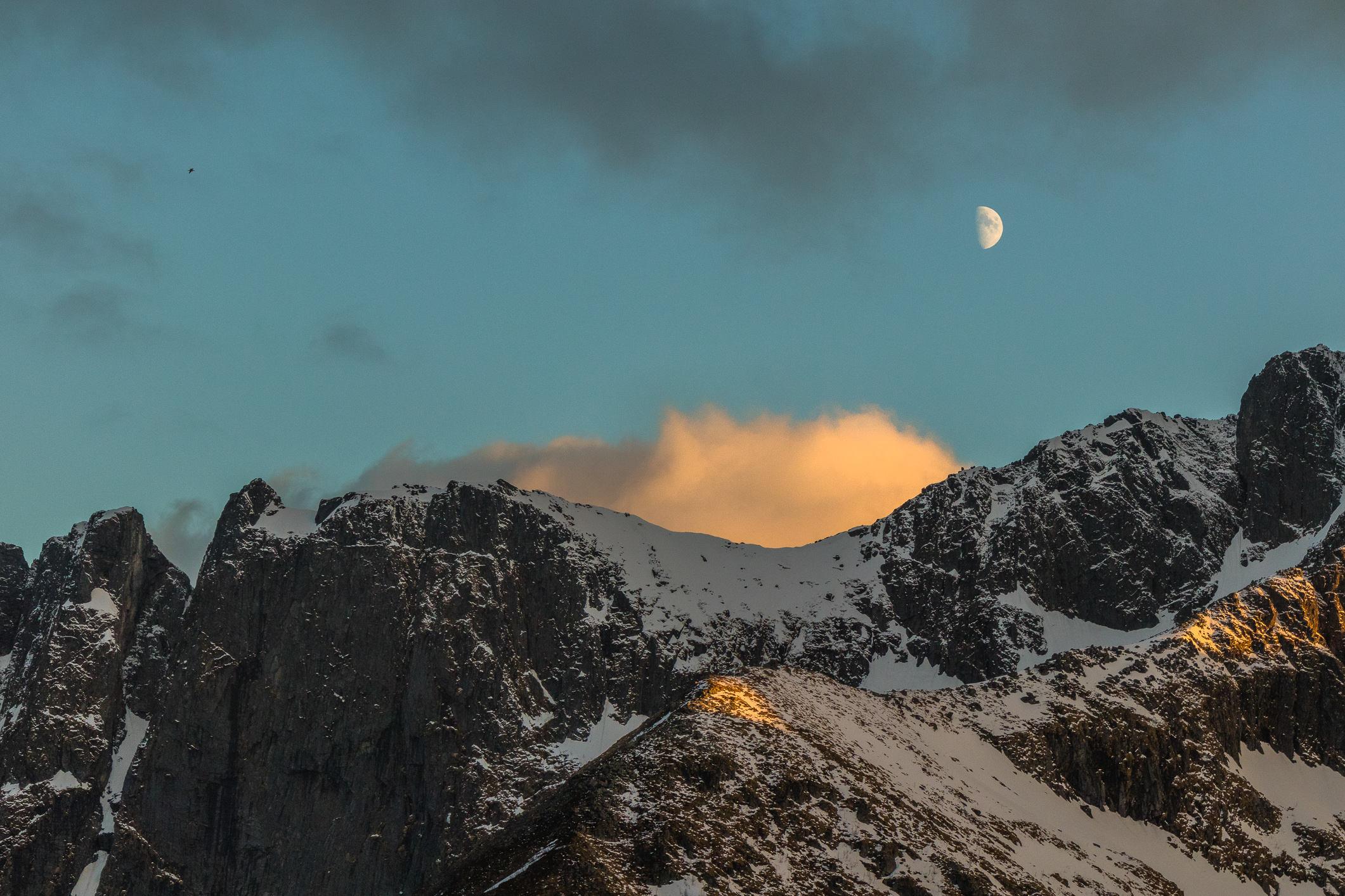 Senjas Landschaft ist nicht weniger dramatisch als auf den Lofoten.