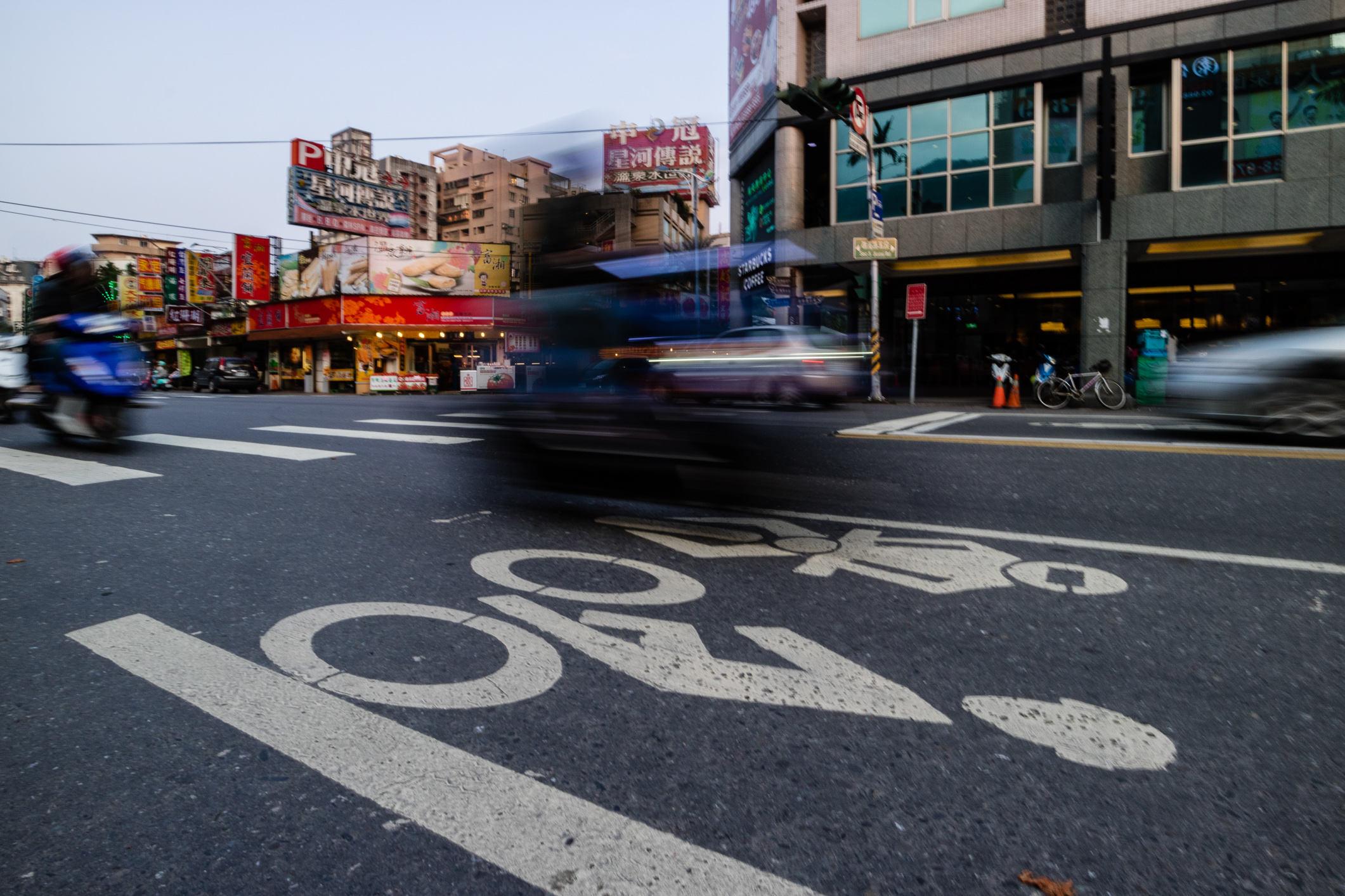 In den größeren Städten wächst die Infrastruktur für Radfahrer.