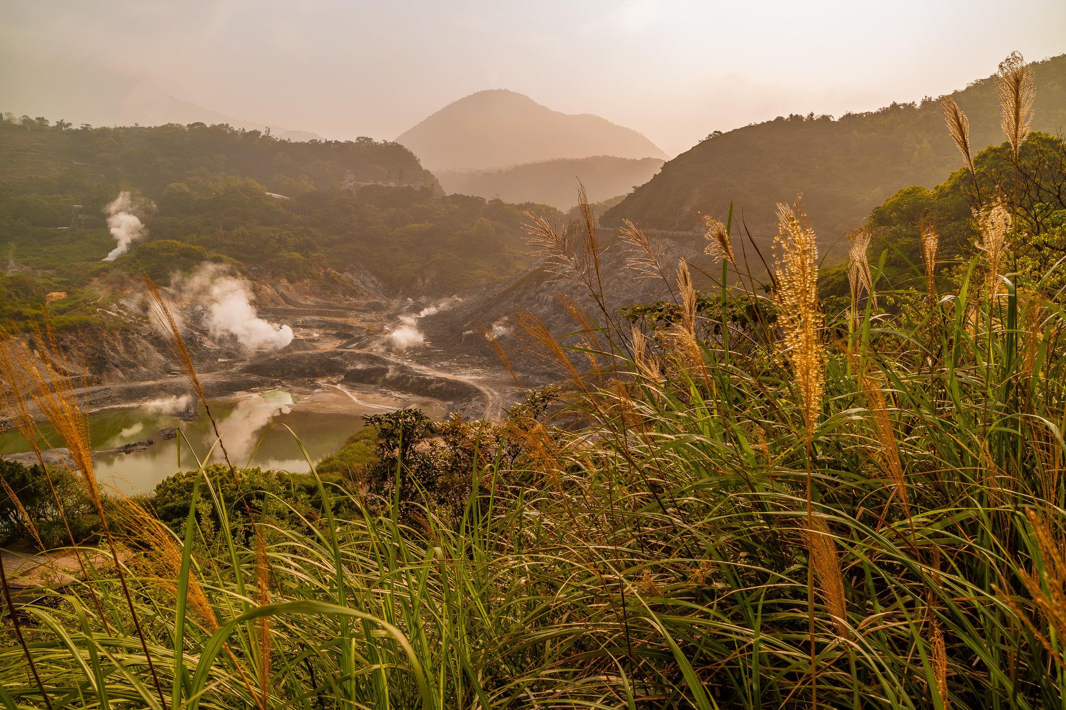 Beitou ist bekannt für seine heißen Quellen.