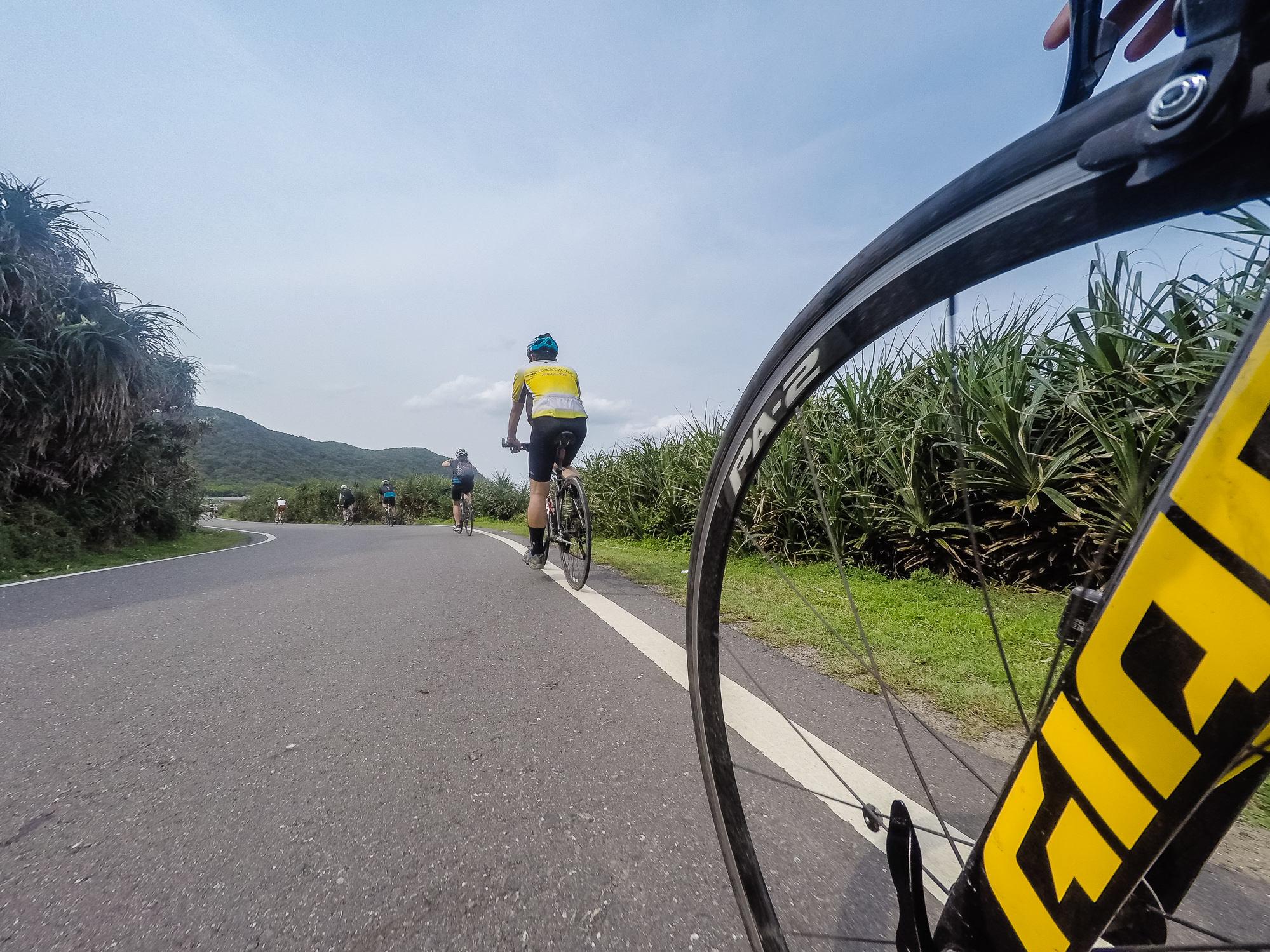 Einen zusammenhängenden Radweg einmal rund um Taiwan gibt es (noch) nicht.