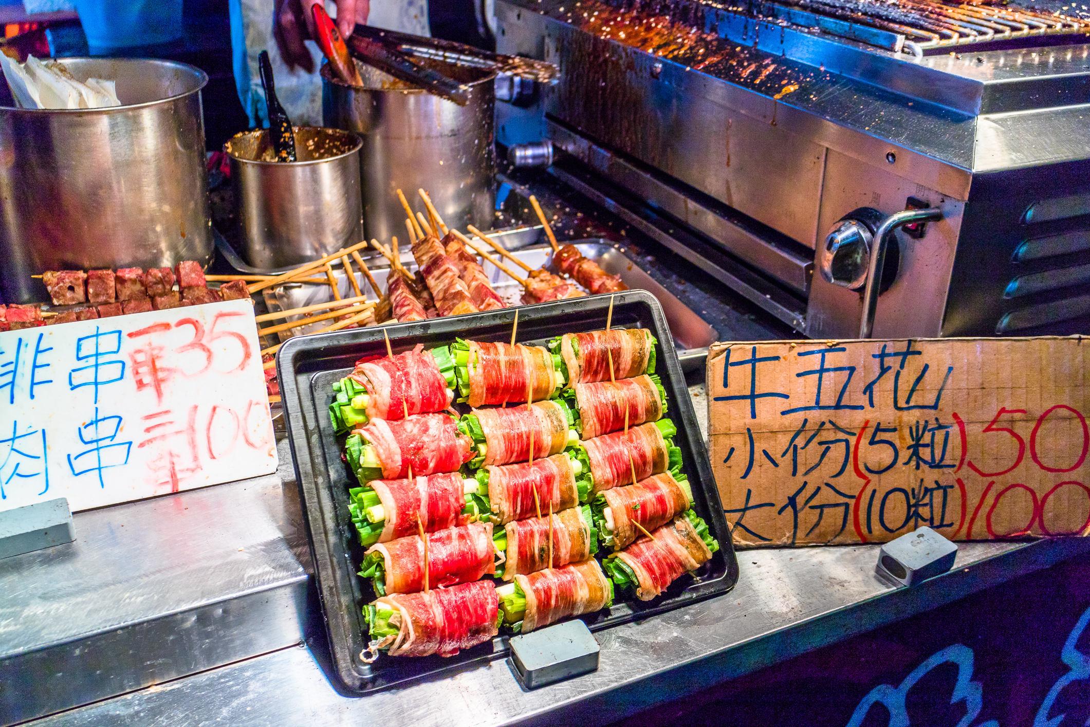 Shilin-Nachtmarkt in Taipei