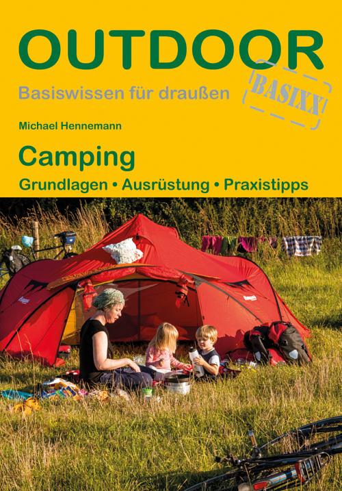 Cover des Camping-Ratgeber von Michael Hennemann