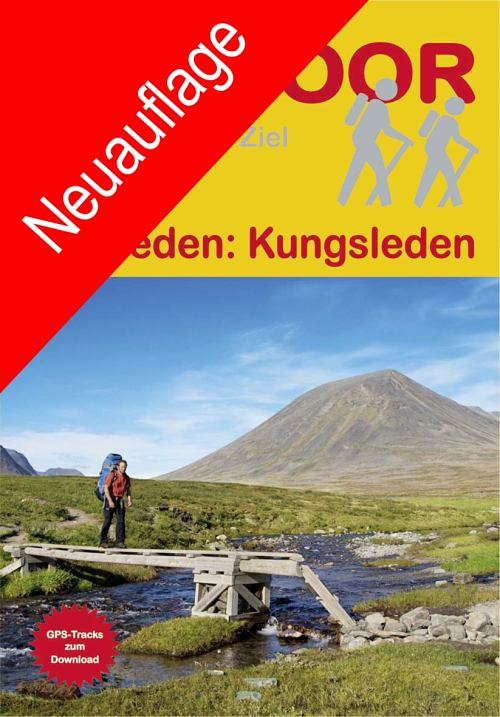 Cover der aktuellen Ausgabe zum Kungsleden-Wanderführer